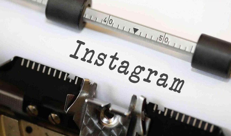Instagram печатная машинка