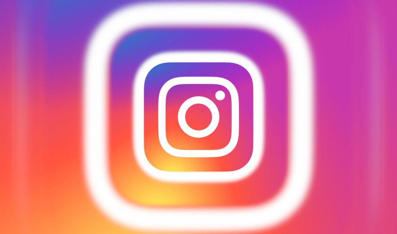 Модифицированный логотип Instagram - иллюстрация
